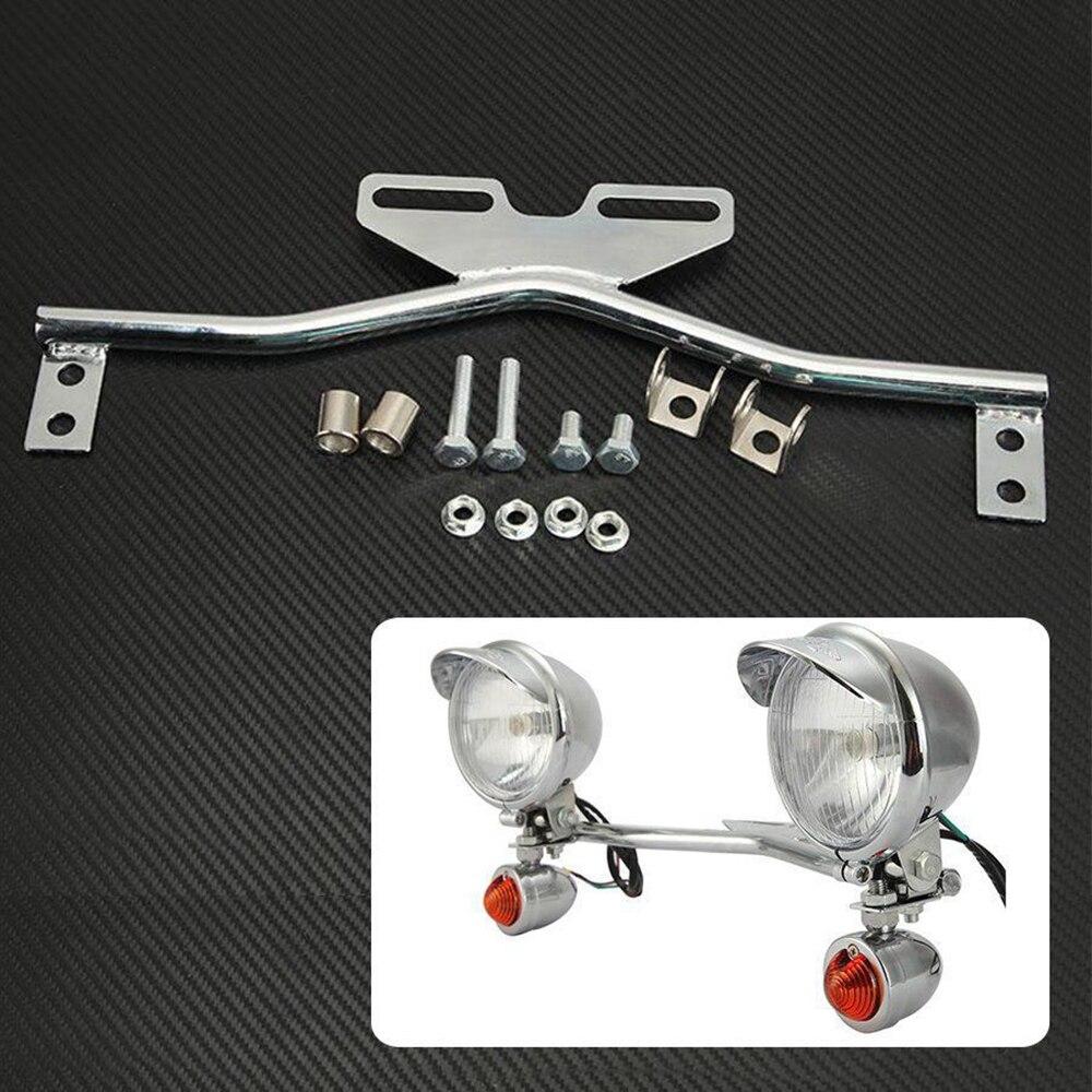 Motocicleta Soporte para antiniebla 25/mm protecci/ón B/ÜG elmotage adicional para soporte