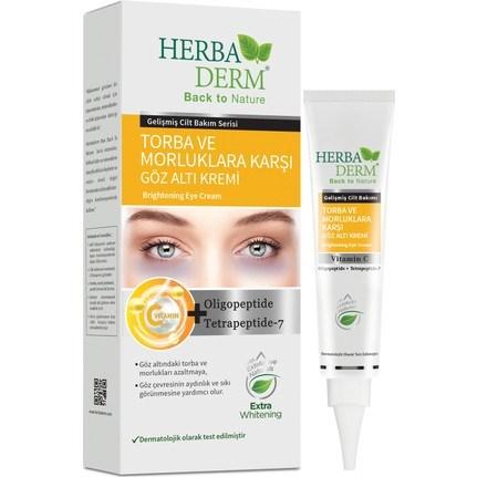HerbaDerm Brightening Eye Cream C Vitamin Under Eye Dark Circle Eye  Brightening 15 ml|Shower Oils| - AliExpress