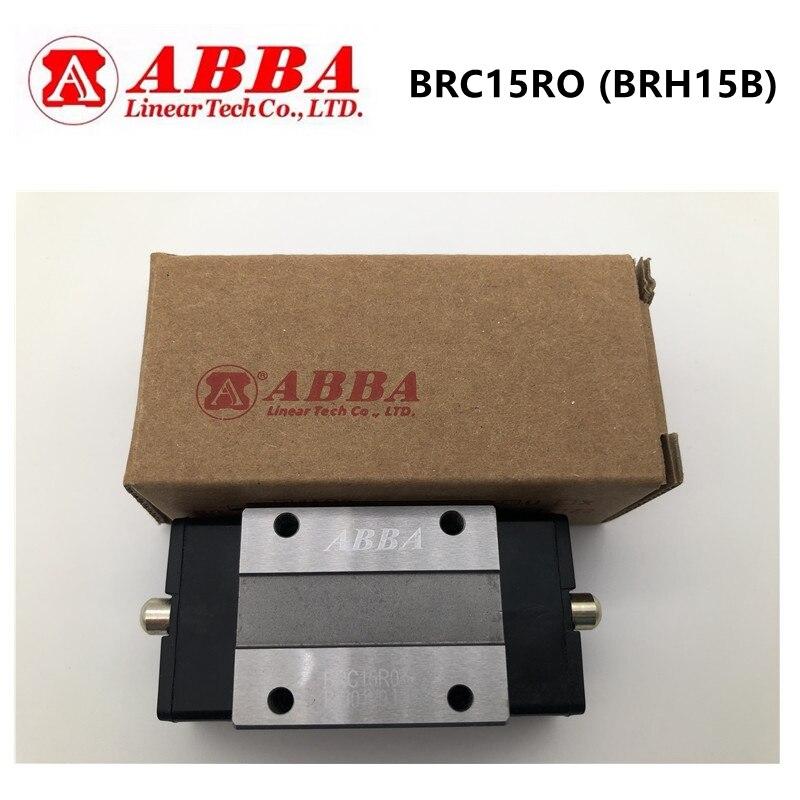Original Taiwan ABBA BRC15RO BRH15B Slider Block Linear Rail Guide Bearing BRC15R0 for CNC Router Laser Machine 3D printer parts|Bearings| |  - title=
