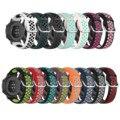 Ремешок силиконовый для Samsung Galaxy Watch 42 46 мм Gear S3 Huawei Watch Gt 2, спортивный браслет для наручных часов, 20 22 мм