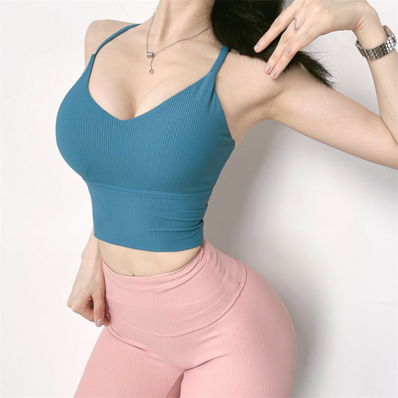 Women Sports Bra Push Up Crop Top Female Fitness Gym Breathable Sexy Running Yoga Athletic Sportswear Vest Clothes Sport9s