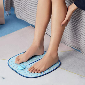 Image 2 - Youpin Leravan USB Electric EMS Foot Leg Muscle Massage Pulse Massager Mat for Promoting Blood Circulation Muscle Pain