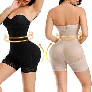 Image 4 - HEXIN Plus ropa moldeadora para entrenamiento de cintura, corsé levantador de glúteos, Control de barriga, elevador de glúteos de talla grande, ropa interior moldeadora