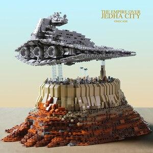 Image 3 - 2019 новая модель MOC Звездные войны Разрушитель Империя Over Jedha модель строительные блоки кирпичи игрушки на день рождения