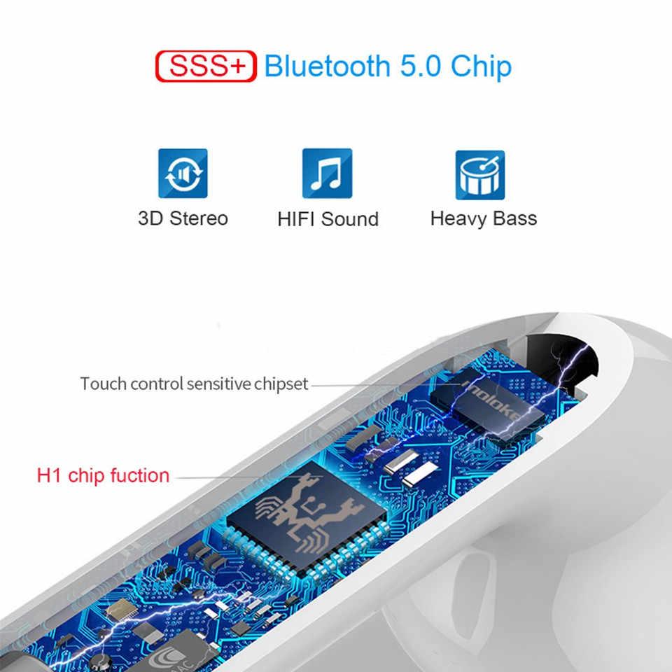 5D Super Bass Neue drahtlose Zweite & Dritte TWS Generationen Replica1:1 pro Kopfhörer