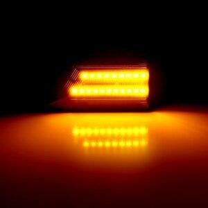 Image 5 - لأوبل فيكترا C 2002 2008 لأوبل سيجنوم 2003 2008 2 قطع Led ديناميكية الجانب ماركر بدوره مصباح إشارة متتابعة الوامض