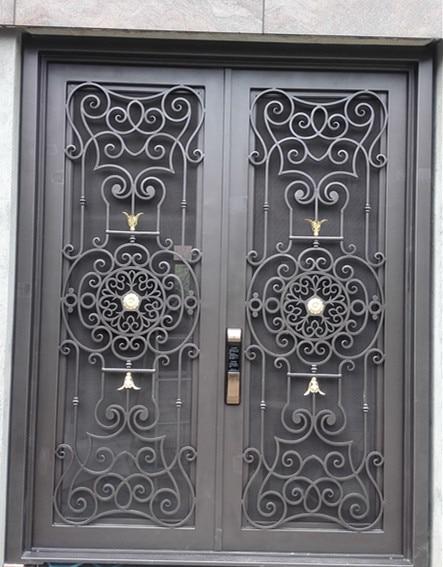 Hench 100% Custom Made Iron Doors  Model Hc-id4