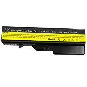 Image 4 - 6500mAh 6 Zellen Neue Laptop Batterie Für Lenovo G460 G560 G465 E47G L09L6Y02 L09S6Y02 L10P6F21 LO9S6Y02 b570e V360A Z370 k47A Z560