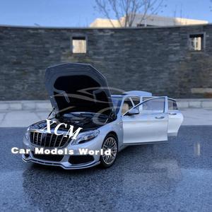 Image 3 - Diecast רכב דגם עבור כמעט אמיתי 900 S class 1:18 (כסף) + מתנה קטנה!!!!!