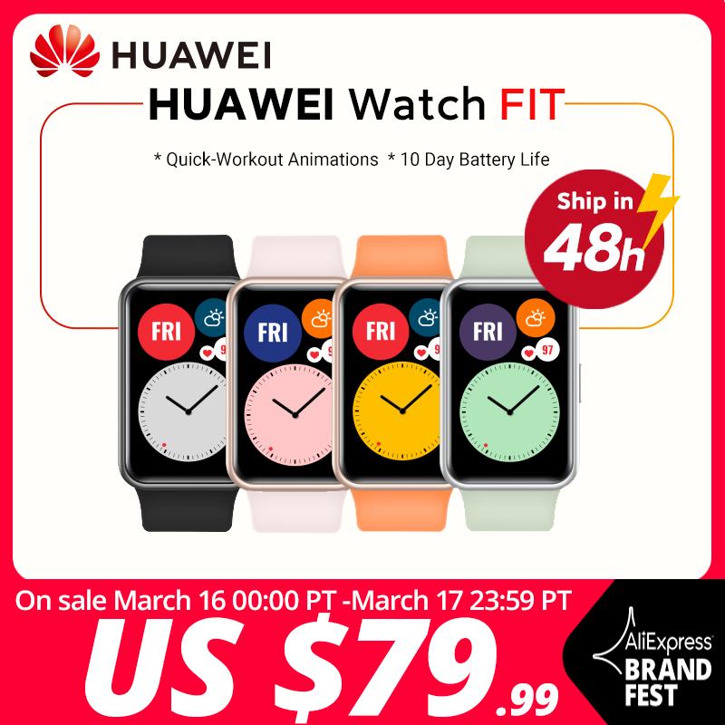 ¡Atent@! Huawei Watch FIT por 65 euros (-25% desc.)