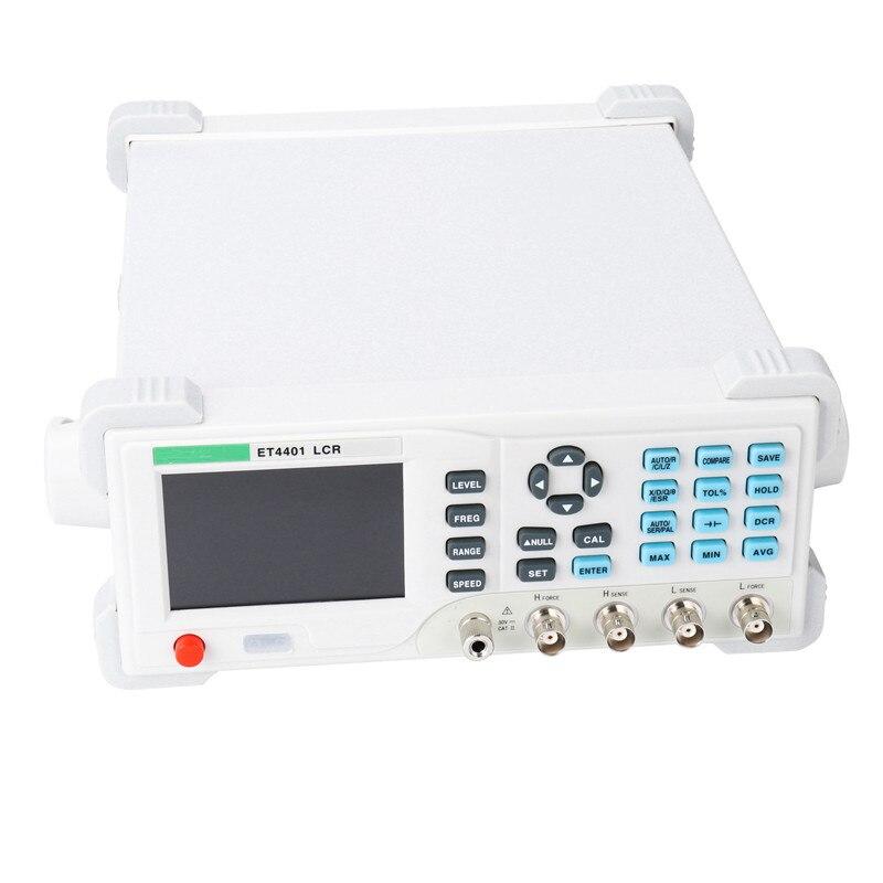 Настольный цифровой измеритель индуктивности ET4401, измеритель емкости L CR, измеритель сопротивления индуктивности, мост L CR