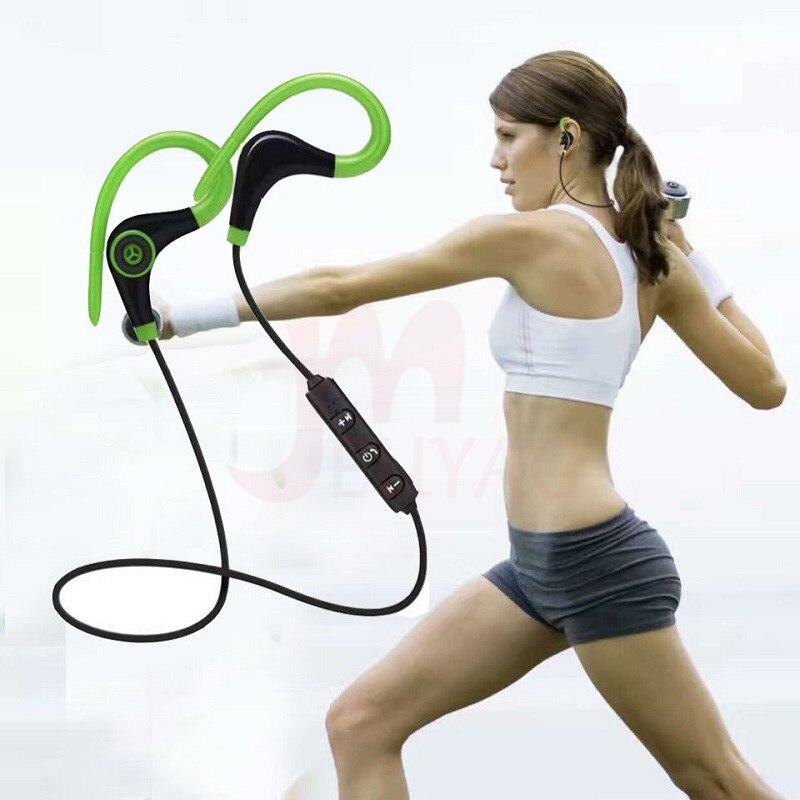 Беспроводная bluetooth-гарнитура MEUYAG, HD стереонаушники, спортивные наушники для бега с поддержкой телефонов iOS/Android