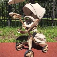Детская коляска от ведущего бренда, 2 в 1, складная рама из алюминиевого сплава, детская машинка для младенцев, детские коляски для детей, четыре колеса, евро стандарт