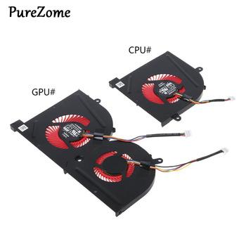 Laptop GPU wentylator chłodzący CPU dla MSI GS63VR GS63 GS73 GS73VR MS-17B1 Stealth Pro procesora BS5005HS-U2F1 GPU BS5005HS-U2L1 chłodnicy tanie i dobre opinie NoEnName_Null CN (pochodzenie) Chłodzony powietrzem NONE Podwójne wentylatory Cooling Fan Z tworzywa sztucznego