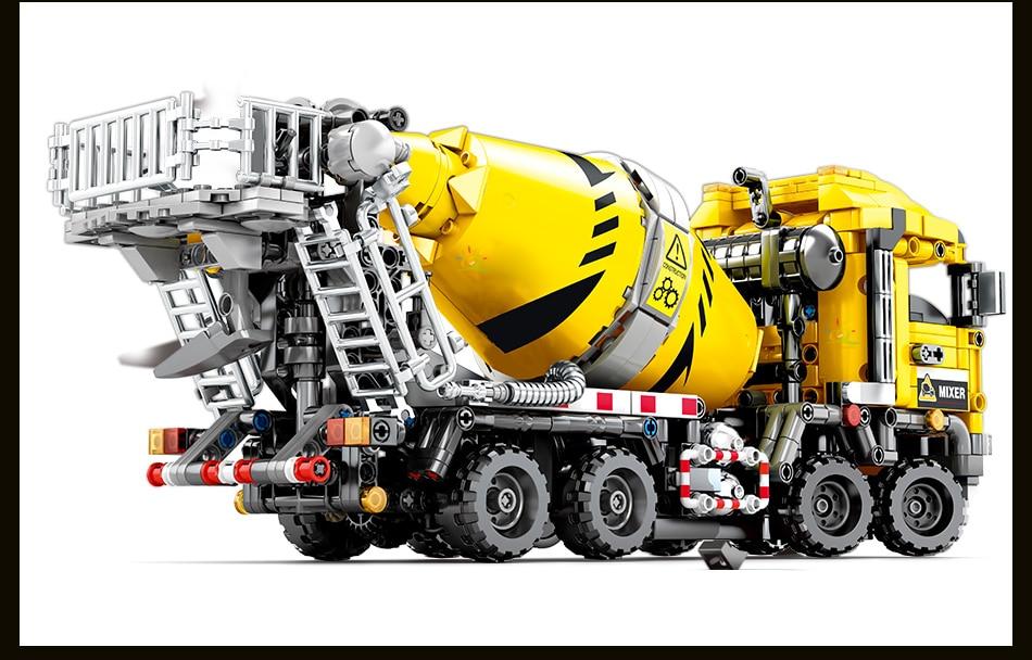 Lego 1143pcs Building Blocks Gifts Machine  Compatible  Engineering Car Technic