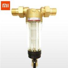 Xiaomi Eco-chain Chanex фильтр для воды чистый латунный предварительно турбомашина многоразовый осадочный фильтр для воды