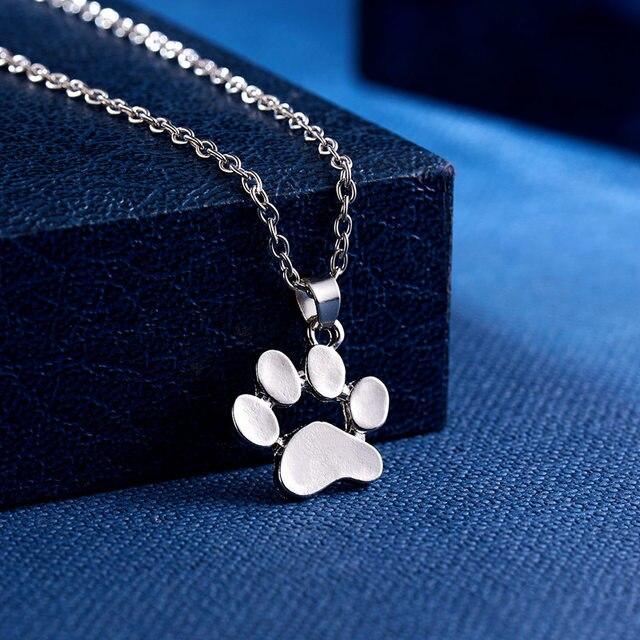 Dog Paw Footprint Necklace 3