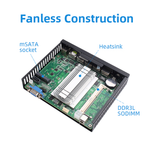 Image 5 - XCY Firewall Router Mini PC Intel Celeron J1900 J1800 4x Gigabit Ethernet Ports Intel i211 NIC VPN Router Pfsense Sophos Fanless