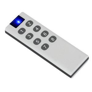 Image 5 - 433 Mhz האלחוטי אוניברסלי מתג 6/8/10 כפתור RF משדר אלקטרוני מנעול בקרת Diy חכם בית