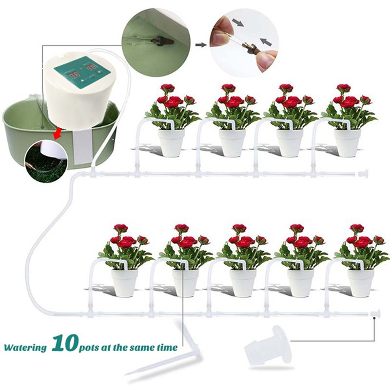Auto Pump Controller Garden Water Timers Suitable for Home Gardening And Farmland 4