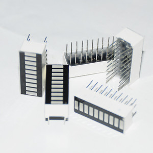 Image 3 - 50pcs 10 세그먼트 LED 막대 그래프 배열 번호 LED 징후 큐브 레드 라이트 바 그래프 그래픽 바 디스플레이 레드 10 바 LED 디스플레이 보드