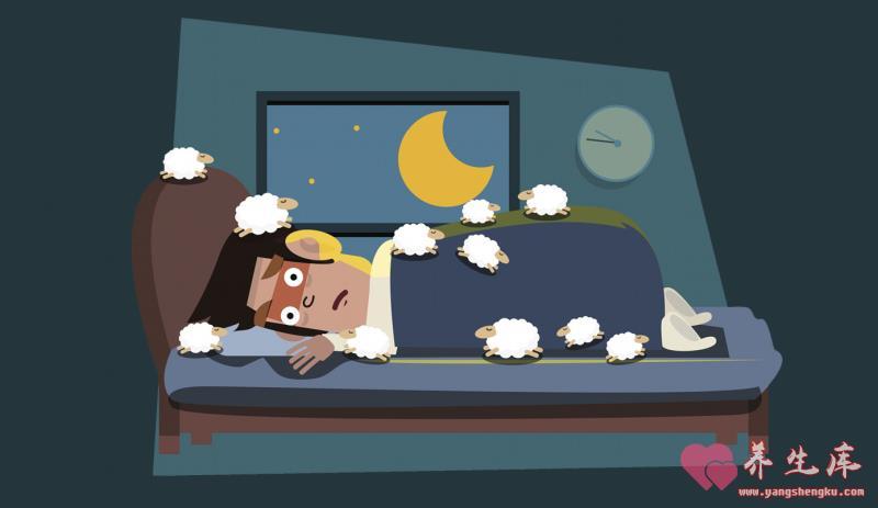 常常失眠睡不好?睡前吃5種小點讓你一覺到天亮