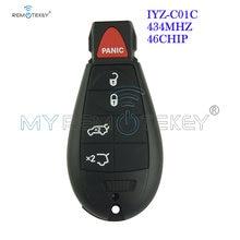 Remtekey #6 fobik key 434 МГц iyz c01c для chrysler jeep grand