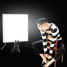 Mini caja de luz LED para estudio de fotografía, luz inferior sin sombra, lámpara de luz libre de sombra, cojín de Panel para estudio de 20cm