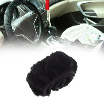 Soft Plush Rhinestone Car Steering Wheel Cover Faux Fur Steering Wheel Cover Genuine Leather Steering Wheel Cover Automotive int image