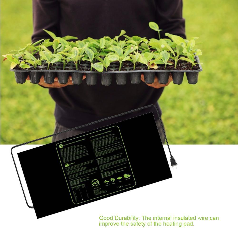 48x20cm Seedling Heating Mat Durable Waterproof Plant Seed Germination Propagation Clone Starter Pad 300V Garden Supplies