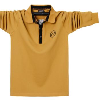 Nowa męska koszulka Polo męska rozrywka haft bawełniana koszulka Polo męska koszulka Polo z długim rękawem duża partia męska luksusowe topy 6XL tanie i dobre opinie CPCOEPAX CASUAL Pełne Na co dzień Wiosna i jesień CN (pochodzenie) COTTON REGULAR Zamki błyskawiczne Stałe Plus size