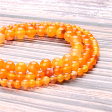 Hot Sale Natural Stone Yellow Striped Agate Beads 15.5 Pick Size: 4 6 8 10 mm fit Diy Charms Beads Jewelry Making Accessories