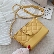 MONNET CAUTHY New Arrival Female Bag Concise Leisure Fashion Crossbody Solid Color Yellow Green Black White Pretty Girl Flap