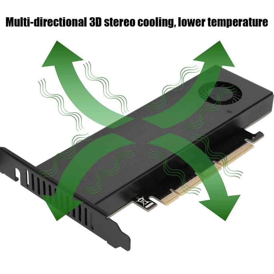 SK9 ل بكيي x 4x8x16 المضيف و خادم NGFF إلى PCIE3.0 التوسع بطاقة محول مع المزدوج الجهد تصميم NVME + AHCI واجهة مزدوجة