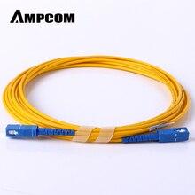 AMPCOM SC волоконный патч-кабель Simplex 9/125 SC/UPC в SC/UPC Одномодовый джемпер Одномодовый патч-корд sc/sc SMF