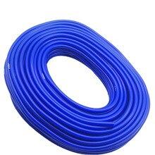 Силиконовый вакуумный шланг EPLUS, универсальный силиконовый шланг, 3 мм, 4 мм, 6 мм, 8 мм, 10 мм, синие автозапчасти, бесплатная доставка