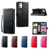 Caso de cuero del teléfono para Nokia 5,4, 5,3, 5,1, 6,1, 7,1 y 6,2, 7,2, 7,3, 8,3, 9 Pureview C1 C3 X5 X6 X71 550 Flip PU parachoques
