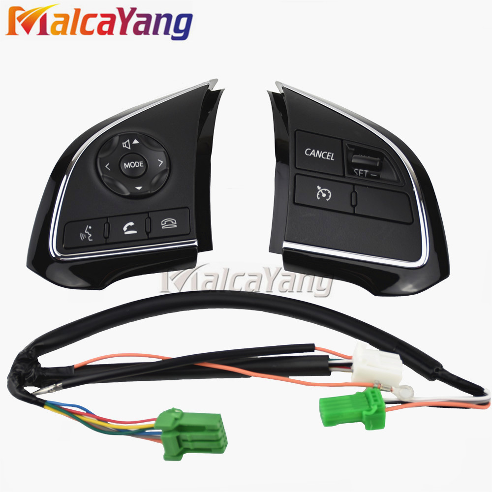 For Mitsubishi Outlander 13 18 Xpander Cruise Control Switch Steering Wheel Control Switch Button Audio Volume Switch|Car Switches & Relays| |  - title=