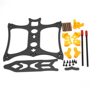Image 3 - Kbat136 136mm Wheelbase 3 Inch 3mm 30.7g Arm Frame Kit For Rc Drone Fpv Racing Models Spare Part Diy Accessories