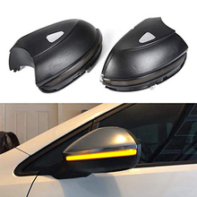 Автомобильный светодиодный динамический зеркальный индикатор заднего вида для Vw Passat Cc B7 Beetle Scirocco Jetta Mk6, светодиодный динамический сигнальный светильник с боковым крылом
