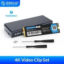Orico thunderbolt 3 4k видео клип pssd 40 Гбит/с nvme m2 ssd