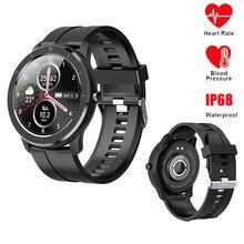 2020 New Fashion T6 Smart Watch Men Fitness Tracker Women Wearable Devices IP68 Smartwatch Heart Rate Wristwatch Men SmartWatch цена 2017