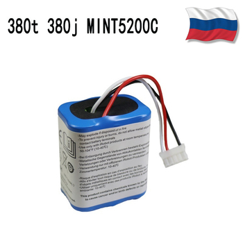 Original 7.2V 2500mAh Battery for iRobot Roomba Braava 380 380T Mint 5200c Ni-MH 2.5Ah 7.2v Rechargeable battery 1Pcs - discount item  30% OFF Remote Control Toys