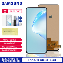 TFT Display For Samsung Galaxy A80 LCD Touch Screen For Samsung A805 SM-A805F Mobile