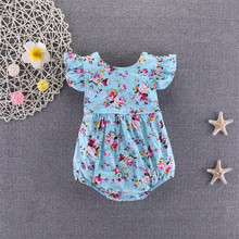 Girl Jumpsuits Outfits Romper Summer Clothes Infant Newborn 0-18M US
