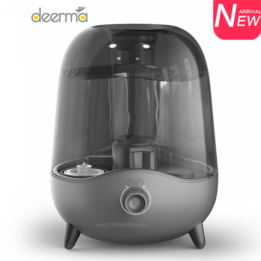 Deerma DEM-F323 5L Aroma Oil Diffuser Ultrasonic Air Humidifier Essential Oil Aromatherapy Cool Mist Maker For Home New