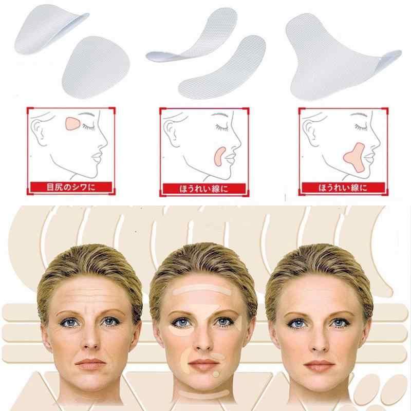 12/24/27 stücke Hebe Gesicht Medizinische Aufkleber Anti Aging Care Neck Gesicht Pads Prävention Anti Falten Schlaffe patches