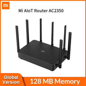 Xiaomi Mi AIoT Router AC2350 Gigabit 2183Mbps 128MB Dual-Band WiFi Wireless Router Wifi Repeater With 7 High Gain Antennas Wider Electronics WIFI Routers