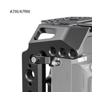 """Image 3 - SmallRig חצי כלוב עבור Sony A7 III A7R III A7R IV Dslr מצלמה כלוב עם נאט""""ו רכבת/קר נעל וידאו ירי כלוב ערכת 2629"""