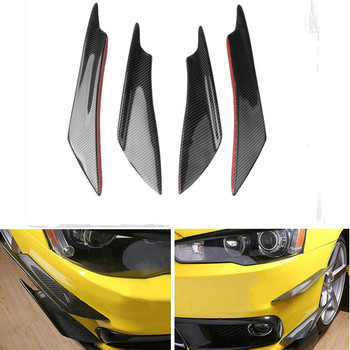 Car Universal Front Bumper Lip Diffuser For Audi A4 B5 B6 B8 A6 C5 C6 A3 A5 Q3 Q5 Q7 BMW E46 E39 E90 E36 E60 E34 Accessories image